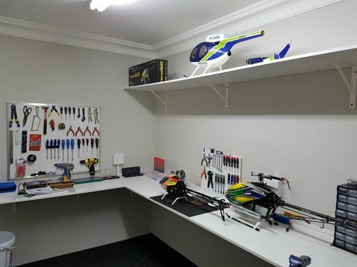 RC Helicopter Workshop