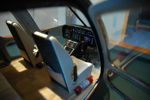 Super Scale AS350 Interior