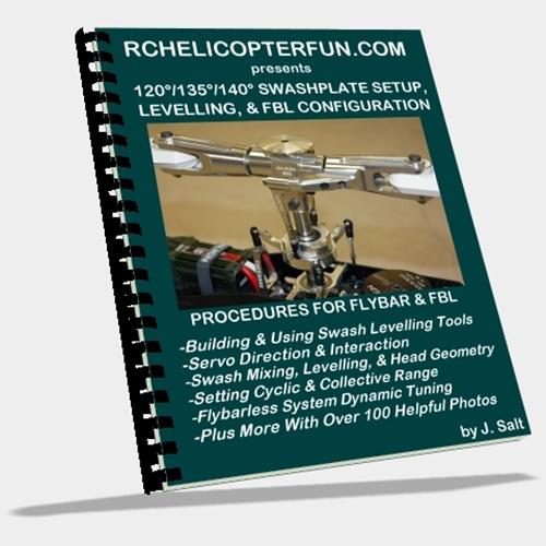 Swashplate Setup, Levelling & FBL Configuration eBook - Click Image To Order