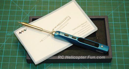 Miniware TS100 Soldering Iron - Blue