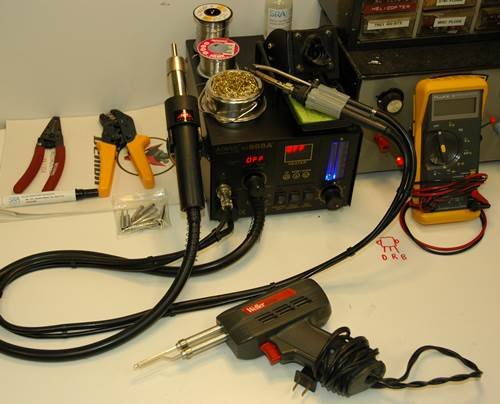 RC Helicopter Soldering Equipment