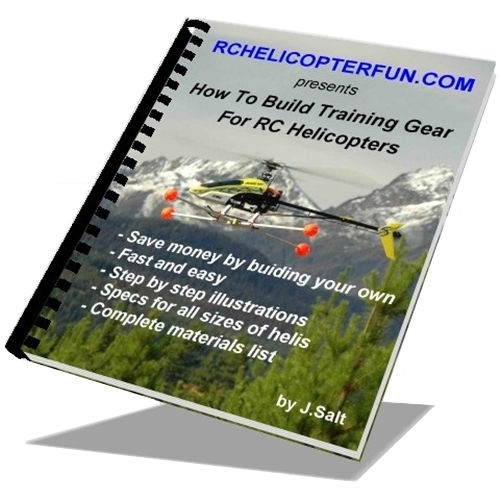 How To Build RC Helicopter Training Gear eBook