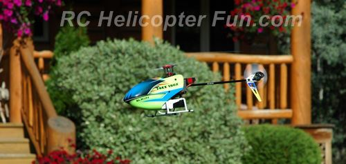 Flying a Small RC Helicopter At Home