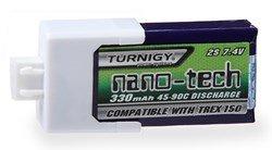 T-Rex 150X Nano-Tech 2S 330mAh LiPo