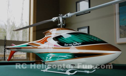 Align Trex 700E BlackShark - One Of the Best RC Helicopers I Have Ever Owned!