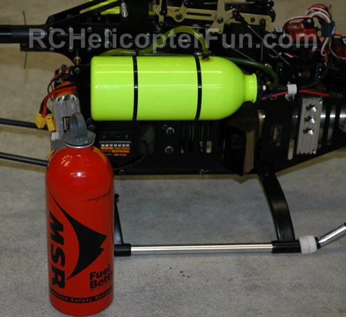 Model Turbine Fuel Bottle Is Puncture/Burst Resistant