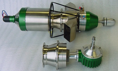 Two Stage Turbine Engine with both Airplane & Helicopter Gear Boxes Shown