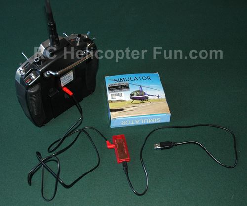 USB RC Flight Simulator Adapter