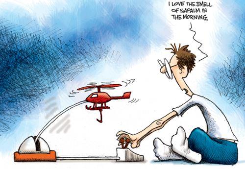 VertiBird Cartoon
