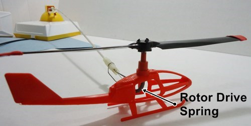 VertiBird Helicopter Drive Spring