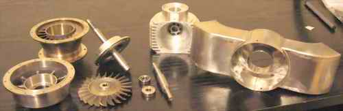 2nd Stage Turbine Components