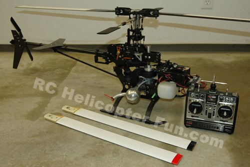 My RC Helicopter History Started With The X-Cell 40 Back In 1989