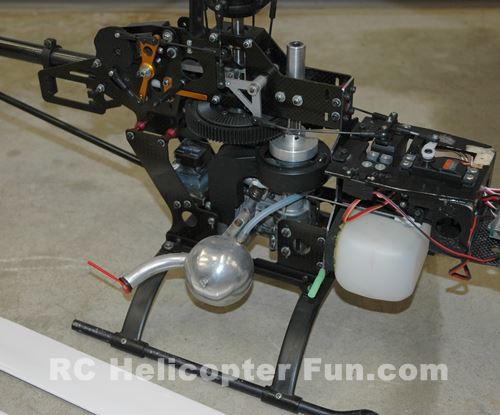Vintage Nitro RC Helicopter