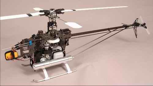 Nitro RC Helicotper Mechanics