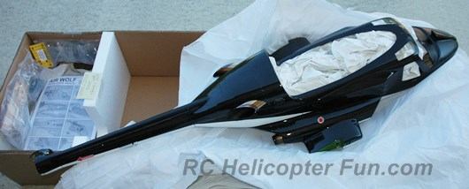 Airwolf RC Helicopter Fuselage