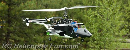 Airwolf RC Helicopter Test Flight