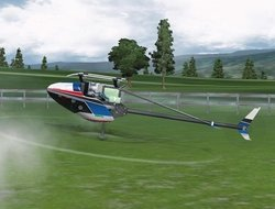 RC Helicopter Simulator Inverted Practice