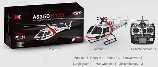 XK K123 RTF Package