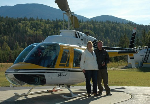 John & Sandy Salt Helicopter