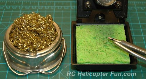 RC Solder Tip Cleaning Methods