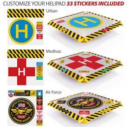 HeliPad Sticker Set