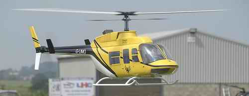 Scale Long Ranger Turbine RC Helicopter